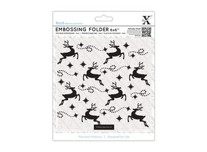 X-Cut / Docrafts Embossing folders, reindeer