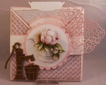 Precious Marieke Stanz- und Prägeschablonen, Romance collection, old water pump