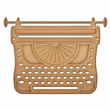 Spellbinders und Rayher Spellbinders, punzonatura e goffratura modello di scrittura Macchina
