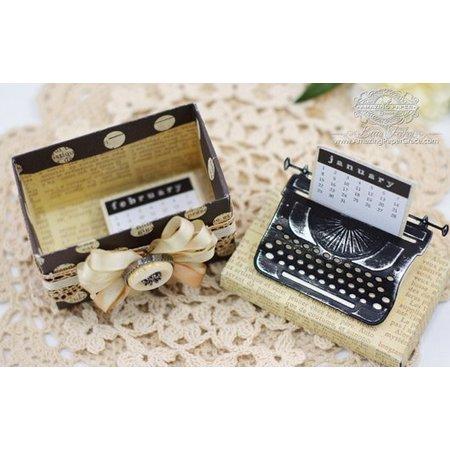 Spellbinders und Rayher Spellbinders, stansning og prægning skabelon Skrivning Machine