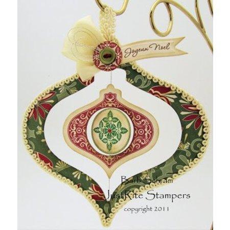 JUSTRITE AUS AMERIKA Justrite, sellos de goma, Weihnachtsmotive