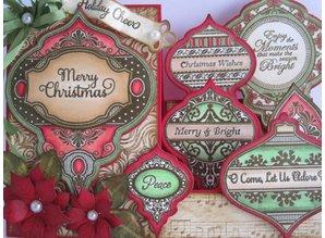 JUSTRITE AUS AMERIKA Justrite, rubber stamp, Christmas motifs