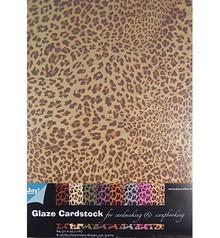 DESIGNER BLÖCKE  / DESIGNER PAPER Patterned Paper - Glaze cardstock Animals Design