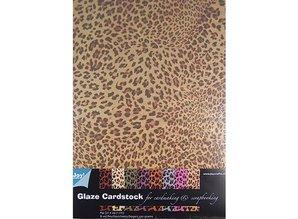 DESIGNER BLÖCKE  / DESIGNER PAPER Carta Patterned - Glaze cartoncino Animali design