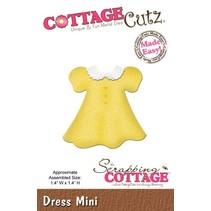 Corte y estampado en relieve plantillas CottageCutz, Mini vestido