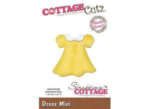 Cottage Cutz Skæring og prægning stencils CottageCutz, Mini Dress