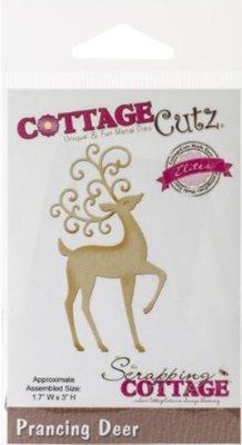 Cottage Cutz Corte y estampado en relieve plantillas CottageCutz, renos