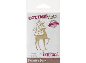 Cottage Cutz Cutting and embossing stencils CottageCutz, reindeer