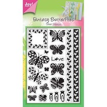 Transparent Stempel, Schmetterlinge