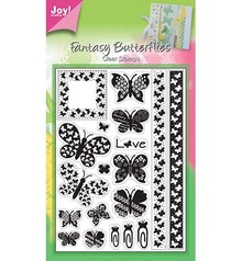 Joy!Crafts und JM Creation Clear stamps, butterflies