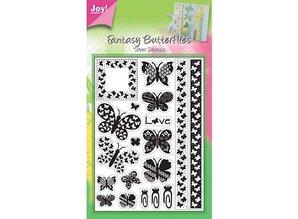Joy!Crafts und JM Creation Clear stamps, butterflies