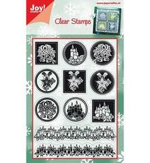Joy!Crafts und JM Creation Timbri trasparenti, motivi natalizi