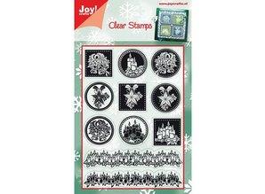 Joy!Crafts und JM Creation Klare stempler, julemotiver