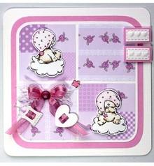 Joy!Crafts und JM Creation Klare stempler, bjørn tema: Baby