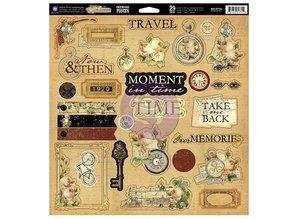Prima Marketing und Petaloo Chipboard Time Traveler Collection - nur noch 1 erhältlich!