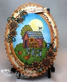 Heartfelt Creations aus USA ESCLUSIVO HEARTFELT dagli Stati Uniti!