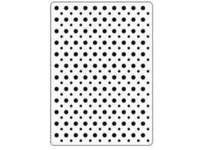 Crealies und CraftEmotions Goffratura cartella 106x150 mm, punti