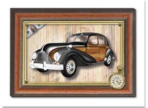 BILDER / PICTURES: Studio Light, Staf Wesenbeek, Willem Haenraets Die cut sheets and bow motif, 2 vintage cars, 1 Oldtimerbus