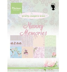 Marianne Design Designersblock, A5, PrettyPapers, Nanny Ricordi