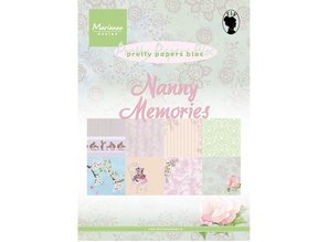 Marianne Design Designerblock, A5, Pretty Papers, Nanny Memories