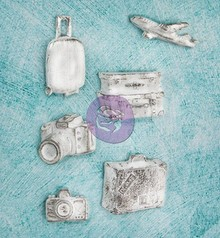 Prima Marketing und Petaloo Resin Collection Udforsk til scrapbooking, collager og meget mere!