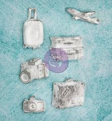 Prima Marketing und Petaloo Resin Collection Udforsk til scrapbooking, collager og meget mere!