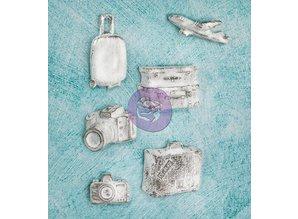 Prima Marketing und Petaloo Collezione Resina Esplora per scrapbooking, collage e molto altro ancora!
