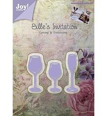 Joy!Crafts und JM Creation Joy Crafts, Stanz - und Prägeschablone, Gläser