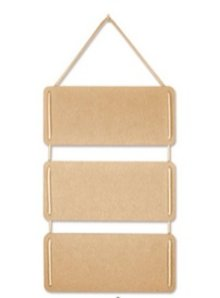 Objekten zum Dekorieren / objects for decorating Frame 3-piece (incl. Cable) MDF