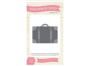 "Carta Bella und Echo Park Stamping and Embossing stencil, Echo Park Suitcase Designer This ""suitcase"""