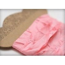 Shabby Ribbon pink 10 mm, 1 m