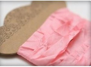 DEKOBAND / RIBBONS / RUBANS ... Shabby Pink Ribbon 10 mm, 1 m