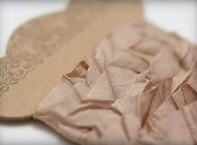 DEKOBAND / RIBBONS / RUBANS ... Lurvet Ribbon lysebrun 10 mm, 1 m