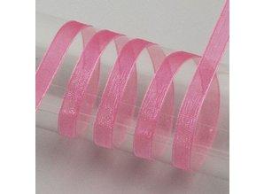 DEKOBAND / RIBBONS / RUBANS ... Organza ribbon selvage, 15 mm, yard goods