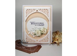 Spellbinders und Rayher Spellbinders, punching and embossing template, Paper Grace, Swirl Bliss Pocket