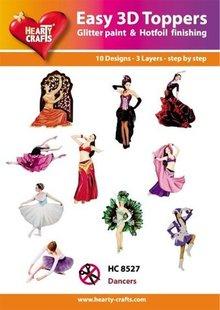 BILDER / PICTURES: Studio Light, Staf Wesenbeek, Willem Haenraets 10 forskellige 3D-design, tema: Dancer