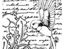 IndigoBlu Rubber stamp, IndigoBlu Antique Songbird Mounted A6