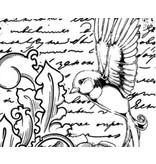 IndigoBlu Gummi Stempel, IndigoBlu Antique Songbird Mounted A6