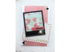 Marianne Design Stamping and Embossing stencil, Marianne Design Hearts