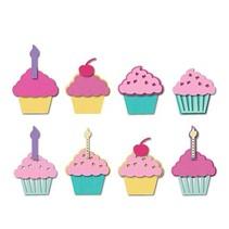 Estampado y Repujado plantilla, Sizzix, ThinLits, Cupcakes