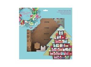 Docrafts / Papermania / Urban Adviento Kit Calendario - Lucy Cromwell En Navidad