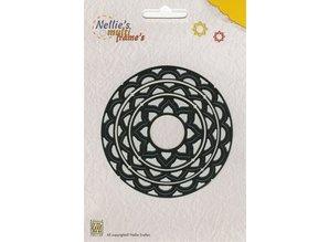 Nellie snellen Stansning og prægning skabelon Nellie`s Multiframe cirkel