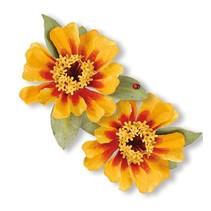 Stanz- und Prägeschablone, Sizzix, ThinLits - Flower, Zinnia