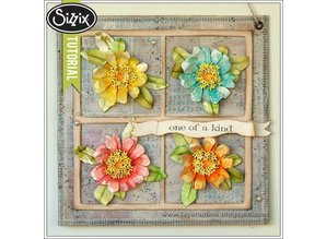 Sizzix Stamping and Embossing stencil, Sizzix, ThinLits - Flower, Zinnia