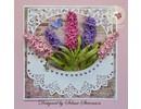Sizzix Estampado y Repujado plantilla, Sizzix, ThinLits, Flor, Lila