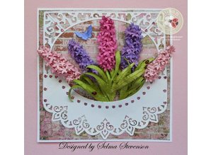 Sizzix Stamping and Embossing stencil, Sizzix, ThinLits, Flower, Lilac