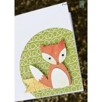 Stempelen en embossing stencils, ThinLits - Fox