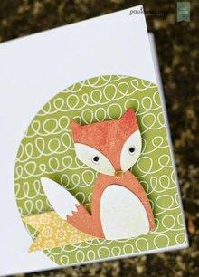 Sizzix Stampaggio e goffratura stencil, ThinLits - Fox