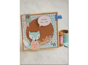 Sizzix Stamping and embossing stencils, ThinLits - Fox
