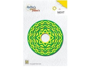 Nellie snellen Punching and embossing template Nellie`s Multiframe cirkel